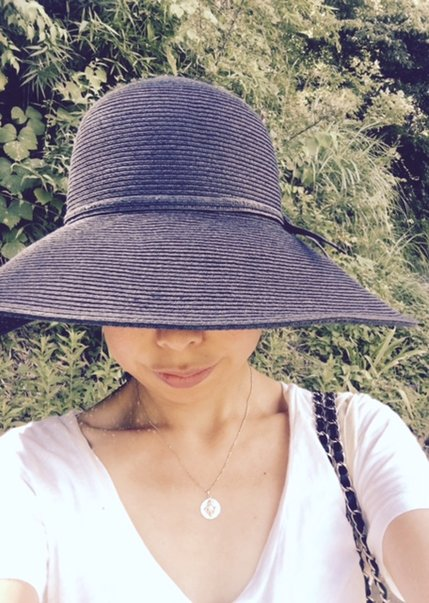 めぐと新しい帽子.jpg