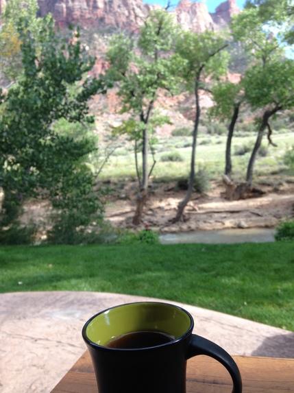 ザイオンでコーヒー.JPG